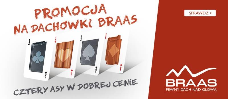 Dachówka Braas Lublin - promocja dachy Lublin